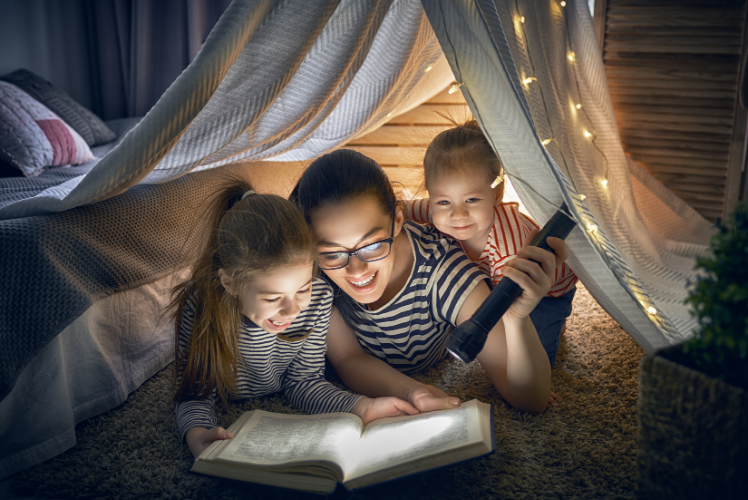 10 Tips for Storytelling at Home