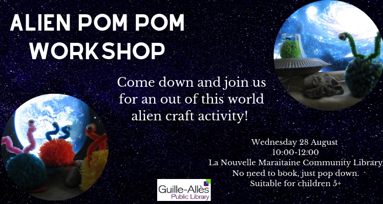 Alien Pom Pom Workshop