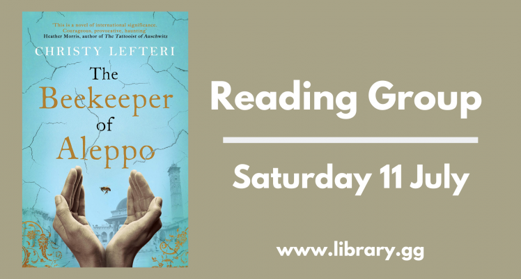 Reading Group: The Beekeeper of Aleppo (Saturday)