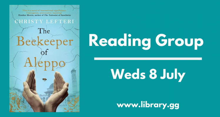 Reading Group: The Beekeeper of Aleppo (Wednesday)