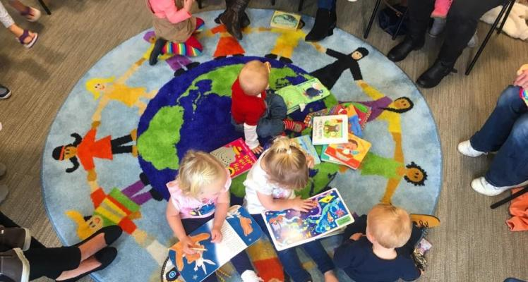 Rhyme Time at St Saviours Community Centre