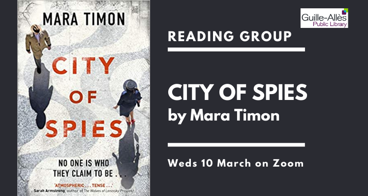 Reading Group: City of Spies (on Zoom)