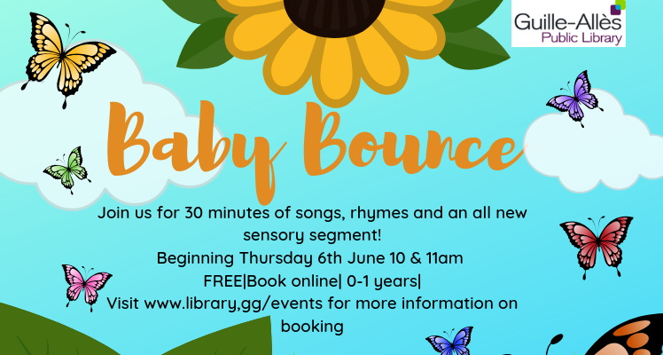Baby Bounce @ 11.00