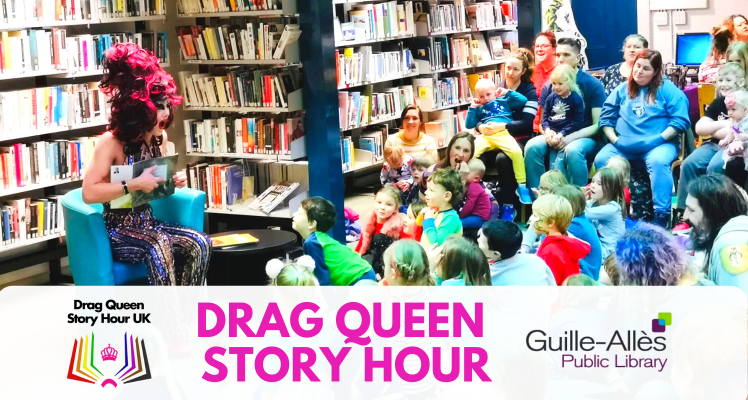 Drag Queen Story Hour - SOLD OUT