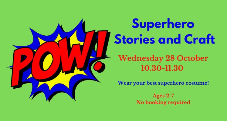 Superhero Stories and Craft