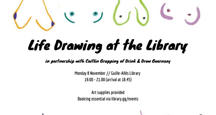 Life Drawing at the Library