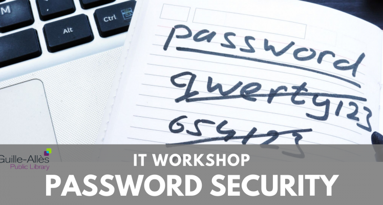IT Workshop: Password Security