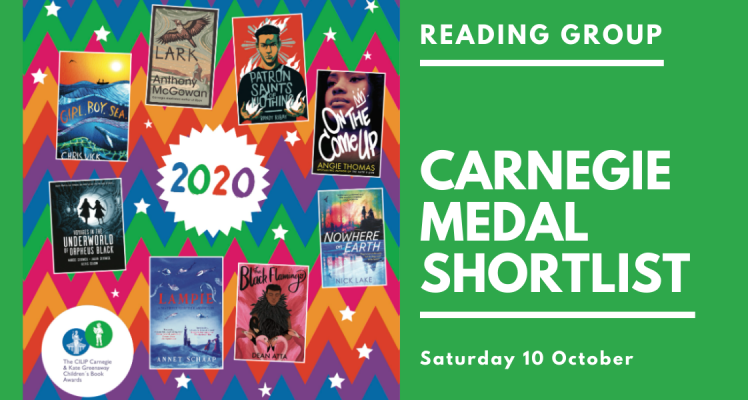 Reading Group: Carnegie Medal (Saturday)