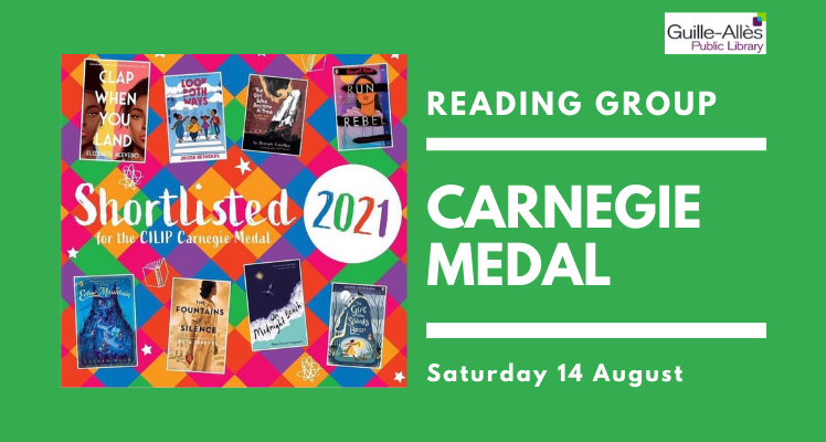 Reading Group: Carnegie Medal (Saturday)