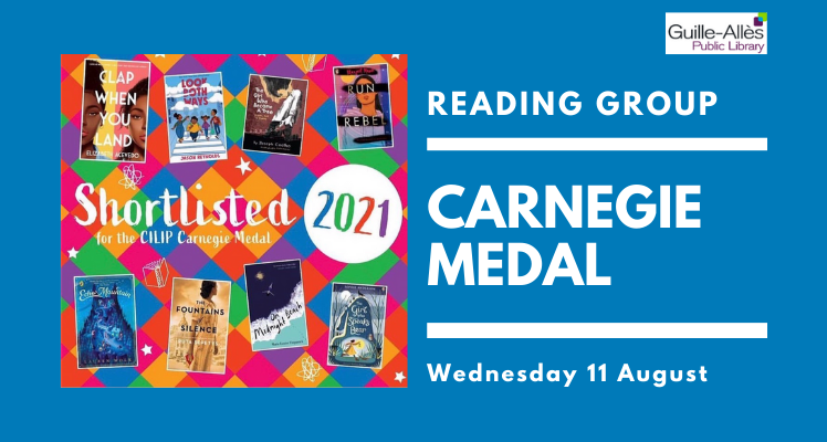 Reading Group: Carnegie Medal (Wednesday)