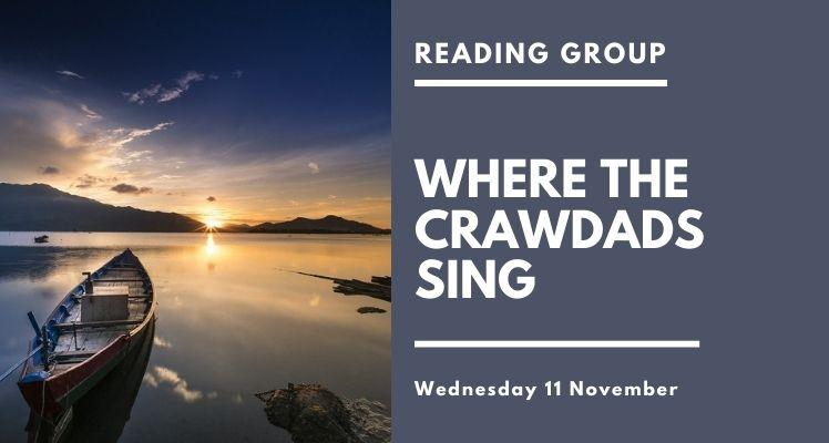 Reading Group: Where the Crawdads Sing (Wednesday)