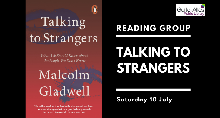 Reading Group: Talking to Strangers (Saturday)