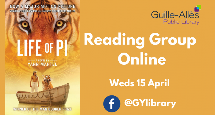Reading Group Live: Life of Pi
