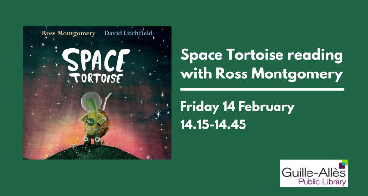 Space Tortoise Reading with Ross Montgomery