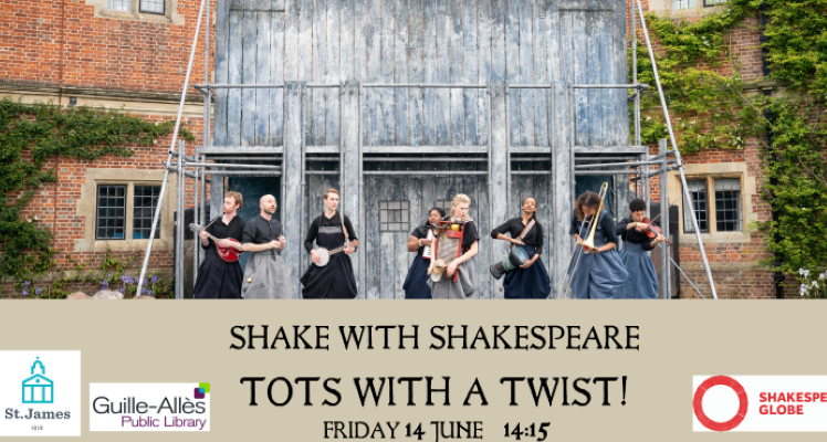 Shake with Shakespeare TOTs SOLD OUT