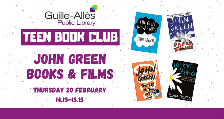 Teen Book Club: John Green