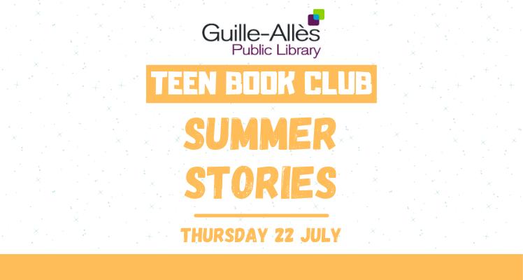 Teen Book Club: Summer Stories