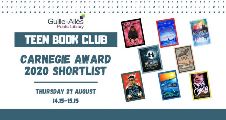 Teen Book Club: Carnegie Award Shortlist