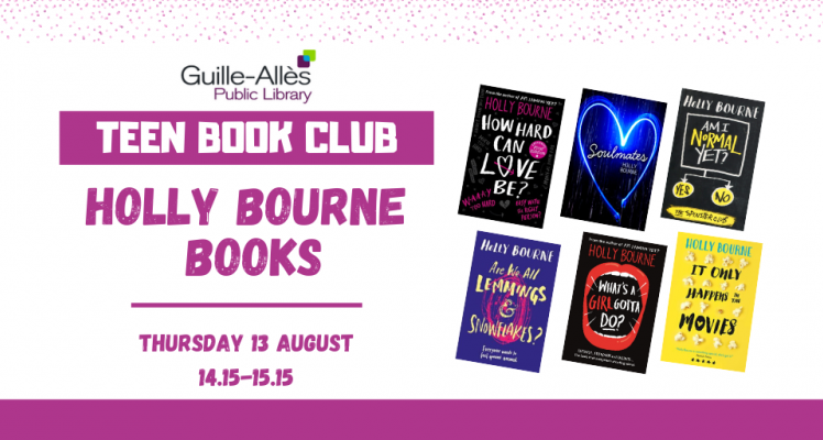 Teen Book Club: Holly Bourne