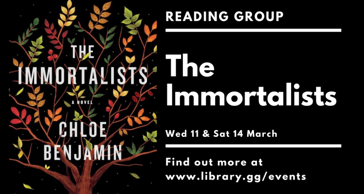 Reading Group: The Immortalists