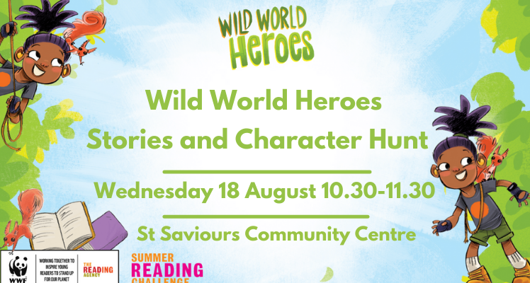 Wild World Heroes Stories and Character Hunt