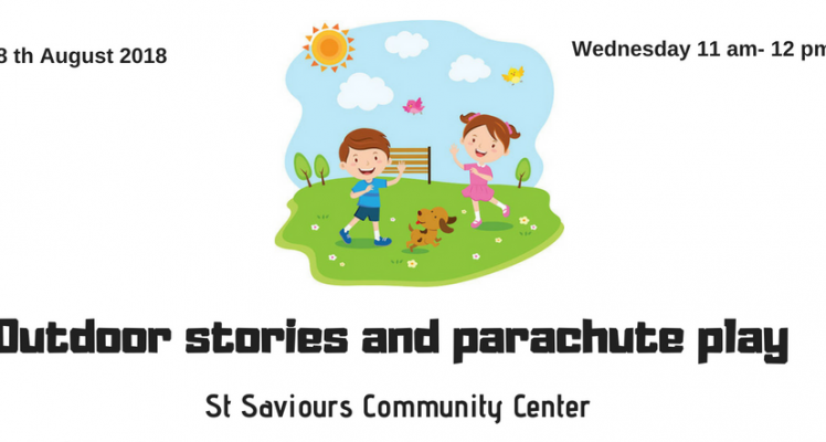 Outdoor Stories and Parachute Play