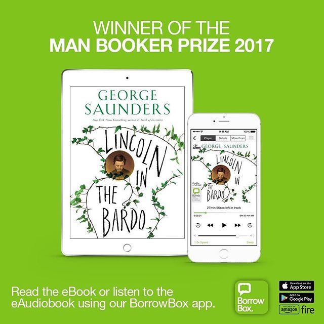 This years manbookerprize winner Lincoln in the Bardo is available as both eBook and eAudiobook on our BorrowBox app. Borrow for free on your computer, ereader, smartphone, tablet.The audiobook features a 166person cast, including Hollywood stars Julianne Moore, Nick Offerman, Susan Sarandon and Ben Stiller Get started on BorrowBox at www.library.gg/ebooks #borrowbox #ebooks #audiobook #libraries #lincolninthebardo #manbookerprize