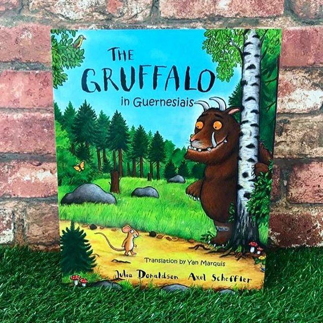 Join us to celebrate this landmark launch.There will be a Guernesiais Gruffalo trail and craft activities between 10.00 and 12.00. The story will be read aloud at 11.00. Its free and you dont need to book. Copies of the book can be bought on the day at a special discount price 5.