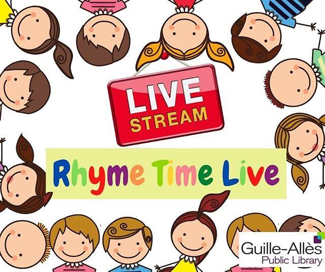 Its been six long weeks and weve been counting the days until we can bring you another Rhyme Time Live. Well, get your shakers, saucepan lids or spoons at the ready as were back this Friday 1 May at 11am!  Join the Childrens Team while you #StayAtHome by tuning in here on Facebook as we livestream another energetic Rhyme Time. We cant wait to see you again!