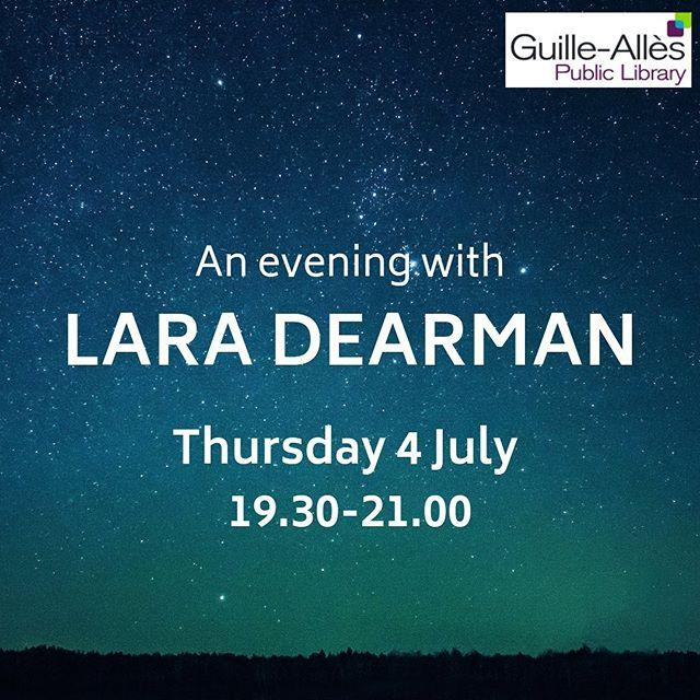 Fan of Lara Dearman? The Guernseyborn author joins us for one night only on Thursday 4 July to discuss her new novel Dark Sky Island Shell explain why she chose to set a crime novel on Sark, read passages from the book, and talk about what the future holds for the Jennifer Dorey series. Book your free ticket at www.library.gg/events laradearman #guernsey #sark #libraries #darkskyisland #whatsonguernsey