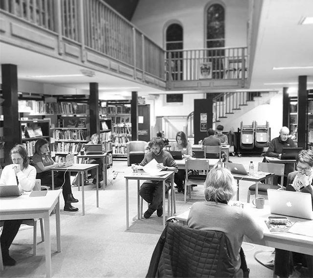 Last night we welcomed 20 local writers for an after hours Write In at the Library. Some were with us all the way til midnight working on their novels, short stories, childrens books, film scripts, song lyrics and memoirs in a fun and positive atmosphere. Well be running more of these events later in the year, so if youre working on a creative writing project, keep an eye on our feed and be sure to join us then! #writing #writein #amwriting #guernsey #libraries