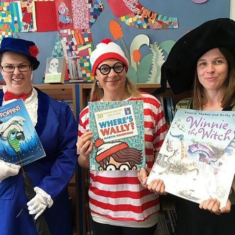 Childrens staff had a great time today dressed up as their favourite literary characters for our activities day as part of #GuernseyHeritageFestival. Can you tell who is who?