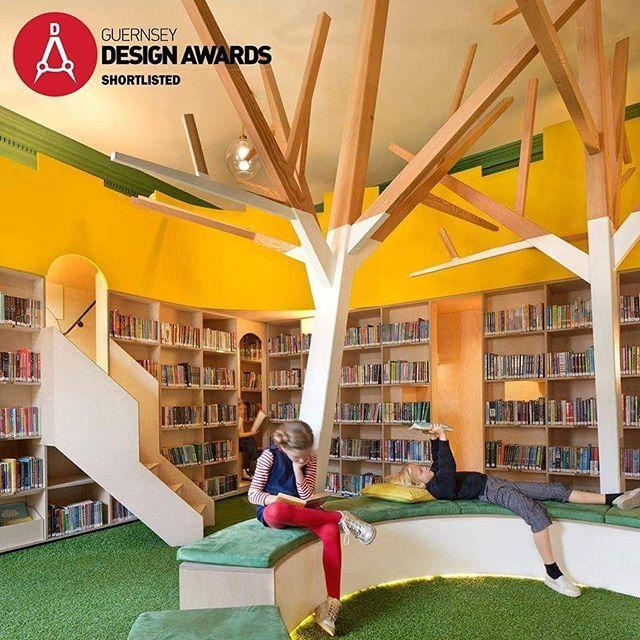 Were thrilled that the Childrens Library Project has been nominated for this years Guernsey Design Awards The CCD Architects project is shortlisted in the Commercial category  and we also need YOUR vote for the Peoples Choice Award! Just head to the Guernsey Design Awards website. Weve had so much amazing feedback on the new Childrens Library since it opened in December 2018, and this has been reflected by sharp increases in footfall and childrens book loans. If you love the new design as much as we do, we hope youll give it your vote #libraries #childrenslibrary #guernsey #guernseydesignawards ccdarchitects