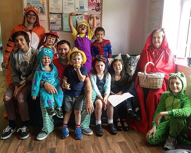 The staff and children of the Kindred Family Centre dressed up this morning for their last Summer Rhyme Time! Some of the characters included Little Red Riding Hood, the Big Bad Wolf, Mog, Matilda and the Enormous Crocodile. The library was running a Summer Reading Challenge station at the Family Centre over the summer. Well done to all the children who took part and completed the Animal Agents Summer Reading Challenge!