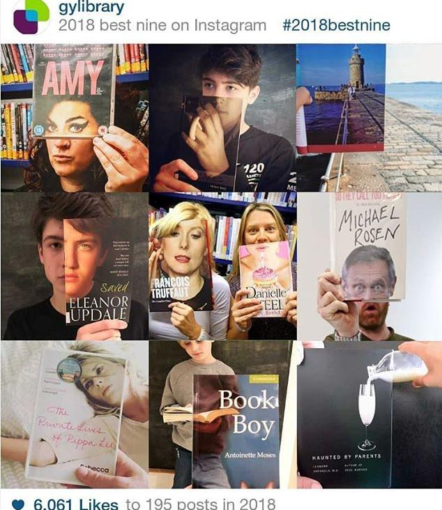 This week weve consulted the ghost of #bookface past to conjure up the best of 2018! We cant wait for more book based fun on 2019!#bookface#friday #friday #gylibrary #library #libraries #librariesofinstagram #librariesofig #guillealles #guernsey #channelislands #bestof2018 #topnineof2018 #topnine #yearinreview #happynewyear #newyear #showmeyourbookface #bestofbookface #topnine2018