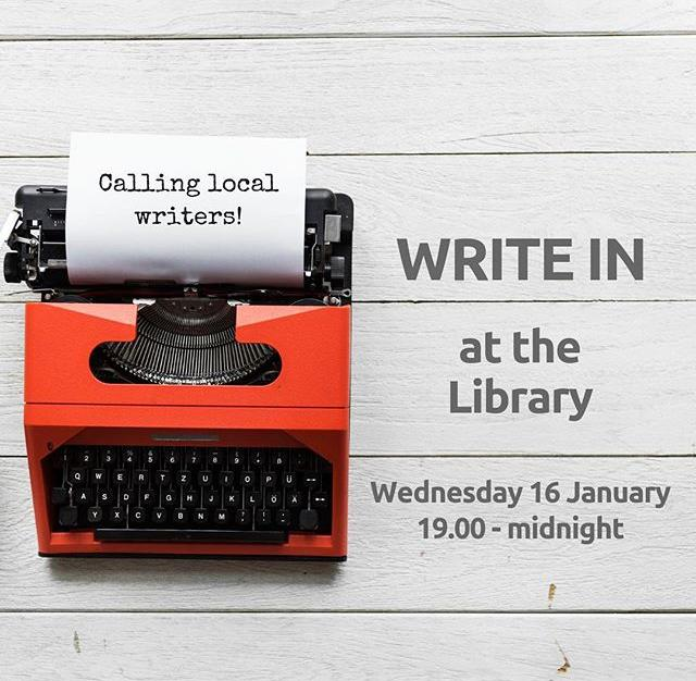Working on your book and need a place to write without distraction? On Wednesday 16 January, join other writers after hours at the Library for an evening of writing and motivation  With the new year underway, its the perfect time to make a start on that novel, childrens book, memoir or screenplay. Some friendly faces and group encouragement might be just what you need to get cracking. You bring your laptop, we provide WiFi, snacks and drinks.Whether youre halfway through a rewrite or youre starting from scratch and looking for some inspiration, all writers of all ages are welcome Stay as long as you like  theres no obligation to stay til midnight, but if you want to, you can!Book your place here at www.library.gg/events #writing #writein #amwriting #libraries #guernsey