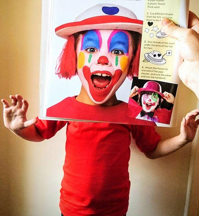 Put a smile on your faces! Surprise! Its #bookfacefriday once again and were pleased as Punch... and Judy, for that matter!#bookface #friday #book #bookstagram #books #librariesofinstagram #libraries #library #gylibrary #guernsey #channelislands #clowningaround #clown #makeup #facepaint #punchandjudy #showmeyourbookface