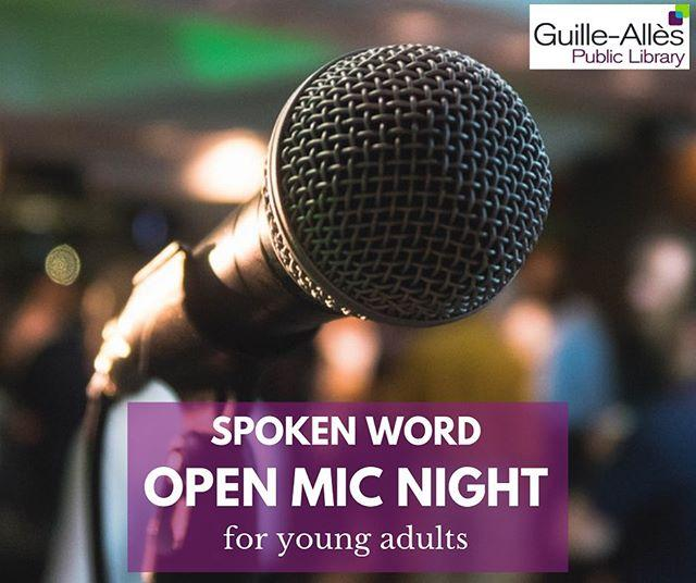 Calling all young writers! Presenting our first ever spoken word Open Mic Night for young adults aged 1621. Read aloud something youve written in front of a supportive audience. All forms of spoken word are welcome short stories, novel extracts, poetry, standup comedy, or anything else!Friday 30 August. Find out more at book your FREE ticket in the audience on our website. #libraries #openmic #writing #creativewriting #guernsey