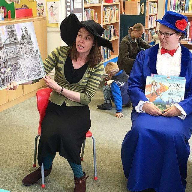 Myths, legends and fairytales with Winnie the Witch and Mary Poppins! Still time to join in he activities for our fun day as part of the Heritage Festival.