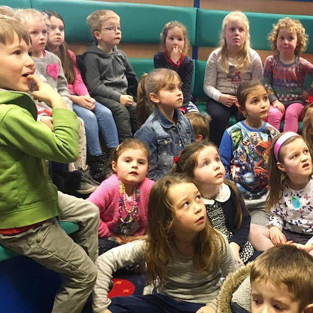 Look at all those faces enjoying half term stories yesterday!