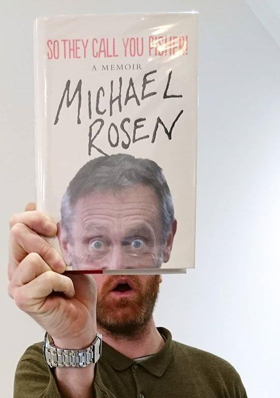 Call me on the phone, call me a taxi, call my bluff, call me by my stage name, dont call me late for dinner, and whatever you do, definitely dont call me out this #bookfacefriday!#bookface #callmepisher #michaelrosen #author #childrensbooks #childrensauthor #friday #showmeyourbookface #guernsey #channelislands #gylibrary #library #libraries #librariesofinstagram #librariesofig