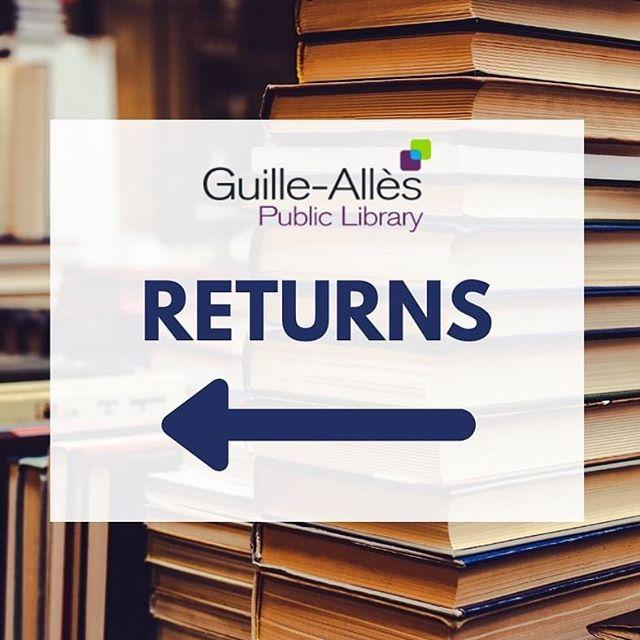 Want to return your library books? Were pleased to announce that were teaming up with the CoOp to allow library users to return their loans. From tomorrow Thursday 7 May you can drop your books in the bins marked Library Returns while shopping at their Grand Marche stores in St Martin and St Sampsons. We want to stress that this is completely optional  if youve got books at home and you arent able to return them at the moment, thats absolutely fine. While the Librarys closed were not chasing anyone about their loans, and of course were finefree now anyway. But if you do want to return the books youre finished with, you can now do so as part of your essential shop.Returning your books will also help support our new home delivery service www.library.gg/deliveriesWith grateful thanks to the CoOp for partnering with us on this. Find out more about all library services during lockdown at www.library.gg/coronavirus#guernsey #libraries #guernseytogether