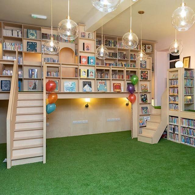 Our new Childrens Library is now open!  After two years of fundraising and several months of building works, the Childrens Library has been transformed into a magical world where children can learn, have fun and be inspired.The new design evokes the Bodleian libraries of old, but with a distinctly modern twist. Artificial grass covers the floors, while comfy window seats overlook Market Square. With staircases and raised walkways leading to secret shelves and reading nooks, children can grab a book and quickly lose themselves in their imagination. We firmly believe our founders Thomas Guille and Frederick Alls would be proud of this new chapter in their legacy. Come in and see the results for yourself!From the outset, the Childrens Library Project has been a community enterprise. We are so grateful to CCD Architects and our lead sponsors The Sarah Groves Foundation, the Skipton Swimarathon, the John Ramplin Charitable Trust, and the Ana Leaf Foundation, as well as RampD De Jersey Limited, Norman Piette Ltd and CBL Consulting Ltd for all their hard work.Thank you also to all the individuals who made contributions. Without your support, the Childrens Library Project would not have been possible
