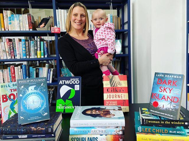 Congratulations to Michelle Tulie, the lucky winner of our December giveaway!  Michelle pictured with daughter Isla wins a bundle of 24 brand new books. Every day up to Christmas Eve we chose a book to add to the list, with every choice something that had made a splash in 2019  from Margaret Atwoods The Testaments to Cilkas Journey by Heather Morris. Michelle was over the moon to win. I honestly couldnt believe it. I never win anything! Ive been talking about it so much my husband had to ask me to stop She said shes most looking forward to reading Dark Sky Island by Lara Dearman, Michelle Obamas autobiography, and The Gruffalo in Guernesiais. She certainly wont be short of something to read this year!  #libraries #guernsey #giveaway