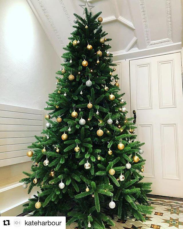 Our little elves are busy decorating the library ahead of the Christmas light switch on this weekend. #Repost kateharbour getrepostIts beginning to look a lot like Christmas!Busy morning at work decorating the tree