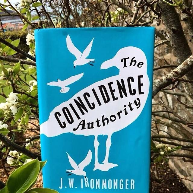A book for the weekend  The Coincidence Authority by J.W. Ironmonger. The story of Thomas Post, a professor who makes his living explaining away coincidences, and what happens when he meets Azalea Lewis, whose life is filled with coincidences that are off the chart. When Azalea goes missing in a foreign land, Thomas must unravel her coincidences if he ever hopes to see her again..... Thoughtful and funny, this is an unusual, touching novel about free will and fate. Reserve it at www.library.gg  #libraries #librariesofinstagram #librariesrock #books #booksarelife #fridayreads #bookworm #bookphotography #igbooks #freewill #bibliophile