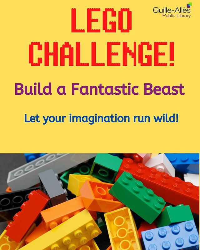 Missing our LEGO nights at the Library? Why not join in our virtual LEGO club! Every week, while we #StayAtHome, well be setting a new challenge. This weeks theme is Fantastic Beasts! You have a week to complete the challenge and wed love to see your creations!