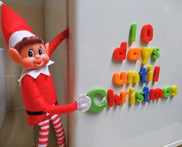 Red alert! Put the lords aleaping on standby, bust out the wrapping paper and start peeling your veggies because the ten day countdown has begun! #gylibrary #library #libraries #librariesofinstagram #librariesofig #guillealles #guernsey #channelislands #elf #elfontheshelf #elfonashelf #elfontheshelf2018 #elfonashelf2018 #elfontheshelfideas #christmas #christmascountdown #xmas #tendaystogo