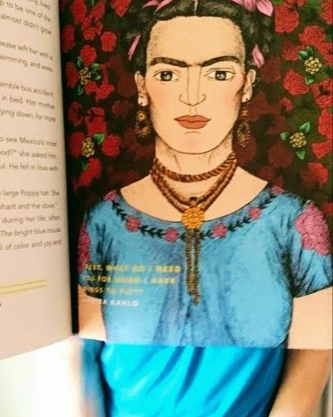 If the week has left you bristling, maybe this will make things more paletteable its #bookfacefriday !Another inspiring woman is our star this week, as Freda Kahlo  famous for her self portraits  gets the Good Night Stories For Rebel Girls treatment. elenafavilli #elenafavilli #francescacavallo #bookface #friday #bookstagram #goodnightstoriesforrebelgirls #rebel #girls #girlpower #bedtime #story #storybook #goodnight #frida #fridakahlo #kahlo #artist #childrensbooks
