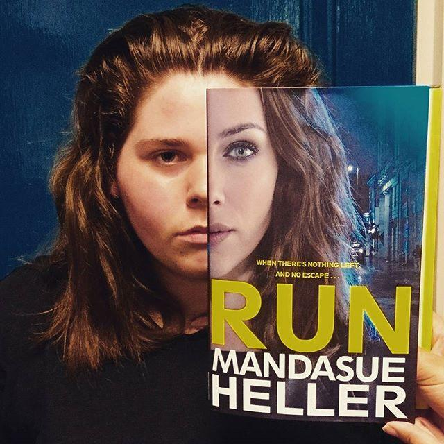 The school year has run its course! Doesnt that put a spring in your step? Then hop, skip and scamper to the #library this #bookfacefriday! #bookface #book #bookstagram #librarylife #libraries #librariesofinstagram #showmeyourbookface #run #heller #mandasue #mandasueheller #guernsey #channelislands #stpeterport #gylibrary #friday